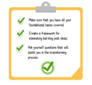 content pros checklist