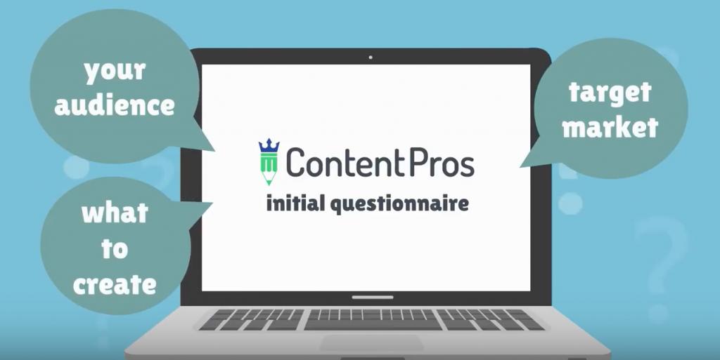 Content Pros Initial Questionnaire
