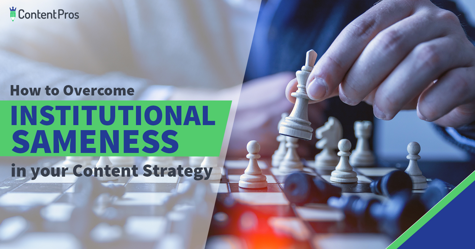 How to overcome institutional sameness in your content marketing strategy