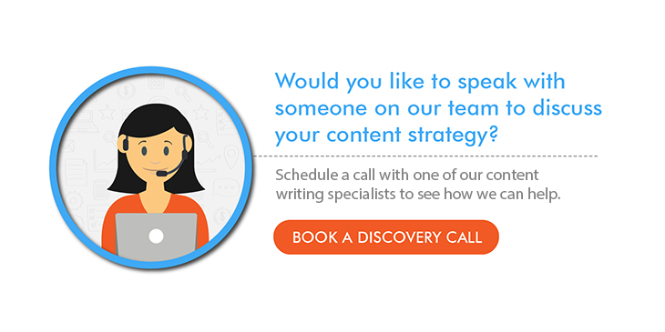 Book a call to discuss your content marketing strategy