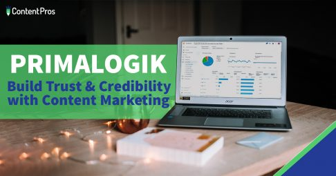 Primalogik case study - build trust and credibility with content marketing