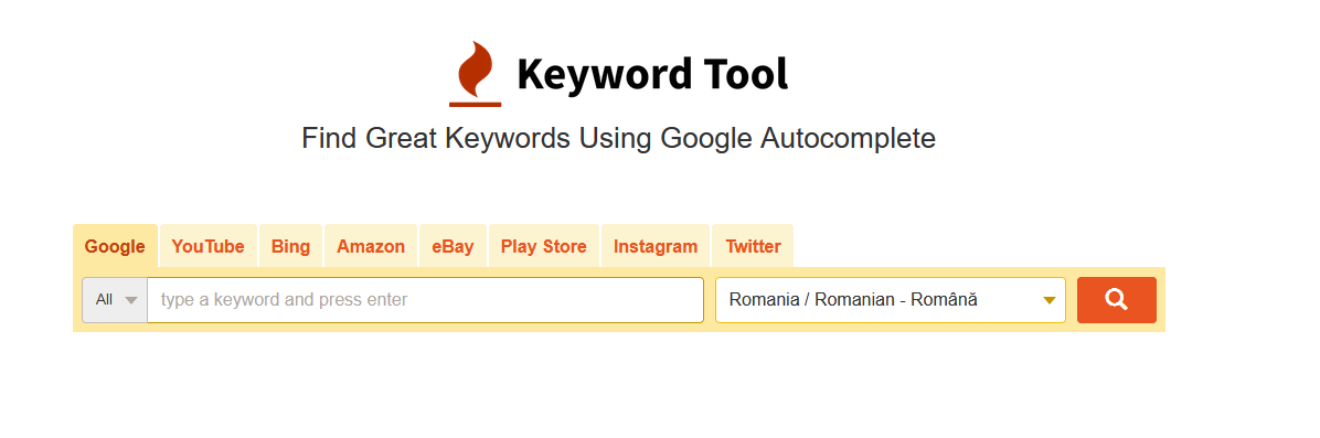 keyword io screenshot