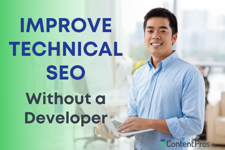Improve technical SEO without a developer
